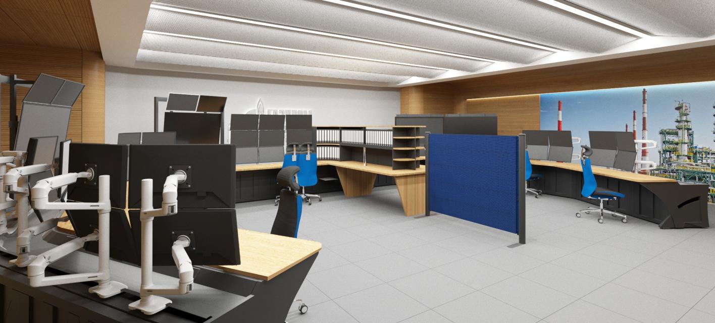 Проектирование помещений управления